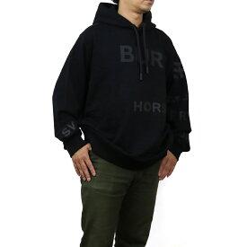 バーバリー BURBERRY ホースフェリーパーカー ロゴ フーディ プルオーバー 長袖 8028539 A1189 BLACK ブラック メンズ men's bos-03 apparel-01 新品