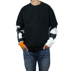 バーバリー BURBERRY メンズ−ロゴ ロング Tシャツ 長袖 8029139 A1189 BLACK ブラック メンズ bos-03 apparel-01