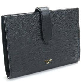 セリーヌ CELINE 2つ折り財布 コンパクト財布 10B64 3BFP 38NO ブラック bos-25 -01 レディース ブランド財布 mini-01