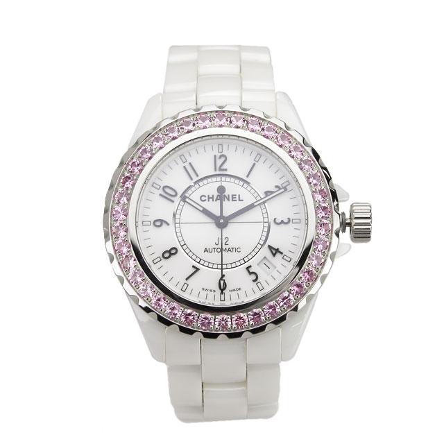 【新品】 シャネル CHANEL オートマチック腕時計 H1182 J12 ホワイト系 【メンズ】【自動巻き】