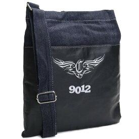 クレイジー CRAZY デニムショルダーバッグ 斜め掛ショルダー EB-S0006 デニムショルダーバッグ ブラック men's メンズ メンズバッグ ブランド ブランドバッグ brand バック 新品