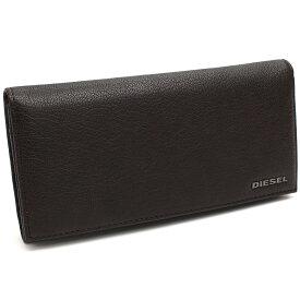 ディーゼル DIESEL 財布 二つ折り 長財布 小銭入付き X03928 PR271 T2189 ブラウン メンズ