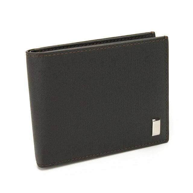 ダンヒル DUNHILL 財布 サイドカーライン 二つ折り小銭入付 FP3070