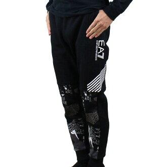 进入E A七EA7人图像转换设计标识运动衫裤子6YPP91 PJ07Z 1200 BLACK黑色