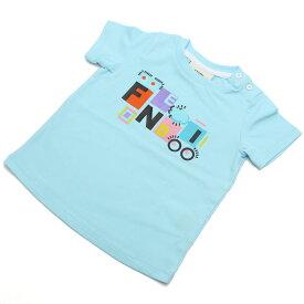 フェンディ (FENDI) ベビーTシャツ BFI033 ST8 F0QF4 ブルー系 ベビー服 キッズ・ベビー 男の子