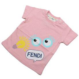 abea0289c33fe フェンディ (FENDI) ベビーTシャツ ベビー服 BUI000 7AJ F0C11 ピンク系 キッズ・ベビー