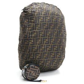 フェンディ FENDI バッグチャーム付き エコバックパック 7AR730 A6FC F13VK ブラウン系 ブラック bos-15 bag-01 レディース ブランドバッグ