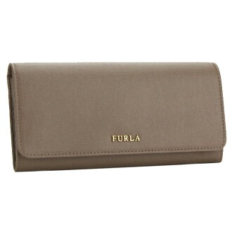 FURLA (FURLA) BABYLON 2 fold wallet coin purse, with DAINO PN05 758692-B30-DAI COLOR beige( taxfree/send by EMS/authentic/A brand new item )