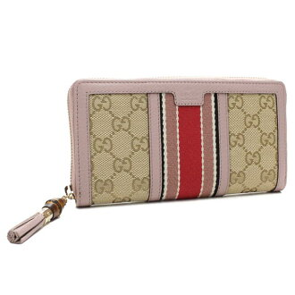 Gucci (GUCCI) RANIA zip around wallet coin with 353651-F 4CKG-9698 beige( taxfree/send by EMS/authentic/A brand new item )