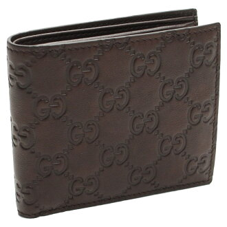 Gucci (GUCCI) bi-fold wallet coin coin purse 365467-A0V 1R-2019 Brown.( taxfree/send by EMS/authentic/A brand new item )