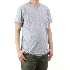 ヒューゴ ボス HUGO BOSS TEEVN メンズ Vネック Tシャツ 50271056 10106415 059 グレー系 メンズ ティーシャツ 半袖 最安挑戦中