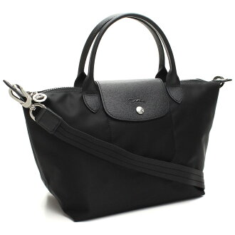 (LONGCHAMP) Longchamp handbags 1512-578-001 black( taxfree/send by EMS/authentic/A brand new item )