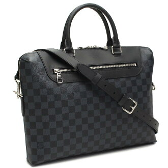 ( tax free ! )Louis Vuitton (LOUIS VUITTON) Damier cobalt PDJ NM Briefcase N41589 gray( taxfree/send by EMS/authentic/A brand new item )