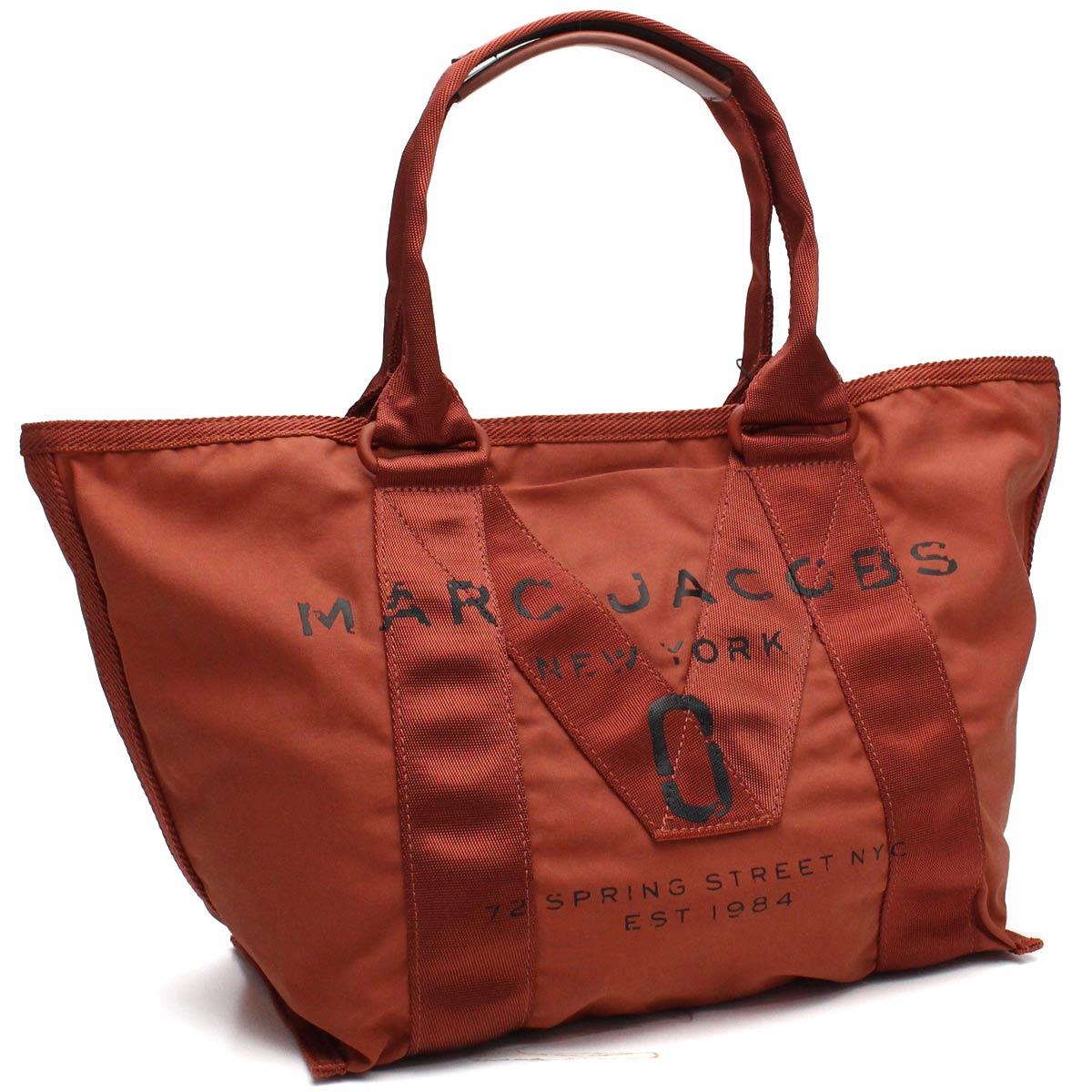 マーク ジェイコブス MARC JACOBS バッグ NEW LOGO TOTE ニューロゴ トート バッグ M0011222 800 ORANGE オレンジ系 【レディース】【dl】brand