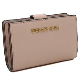 697828e0484e マイケルコースアウトレット MICHAEL KORS(OUTLET) コンパクト 2つ折り財布 35F7GTVF2L LEATHER BALLET  ピンク
