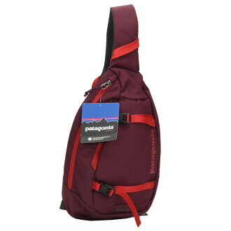 Patagonia (Patagonia) ATOM SLING body bag 48260 DKCT ALL Red system( taxfree/send by EMS/authentic/A brand new item )