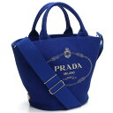 4b8ea43075e8b1 2way tote bag 1BG186 ZKI V OOO F0215 COBALTO blue system Lady's with Prada  PRADA カナパポーチ