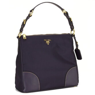 Prada outlet (PRADA OUTLET) shoulder bag BR4964 O ZMY F0531 MORA blue system