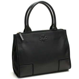 (TORY BURCH) Tory Burch ELLA tote bag 41159501-009 BLACK/BLACK black( taxfree/send by EMS/authentic/A brand new item )