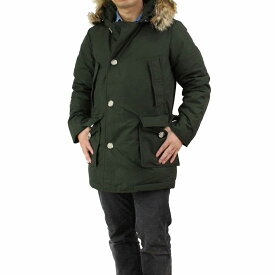 ウールリッチ WOOLRICH ARCTIC PARKA DF ファーフード付きメンズダウンコート WO1674 RGR カーキ メンズ ダウン ジャケット コート