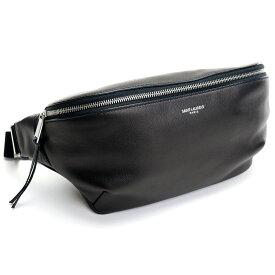 サンローラン SAINT LAURENT ボディバッグ ソフトカーフ 505671 0X52E 1000 ブラック bos-14 bag-01 メンズ
