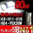 【送料無料】1年保証 LEDフォグランプ H8 H11 H16 HB4 PSX26W 80W LEDバルブ LEDフォグ LEDバルブ ヴェルファイ アルファー...