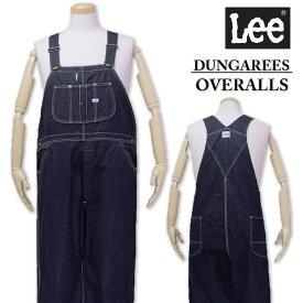 大きいサイズ メンズ Lee(リー) オーバーオール ワンウォッシュ 2L 3L 4L 5L【コンビニ受取対応商品】