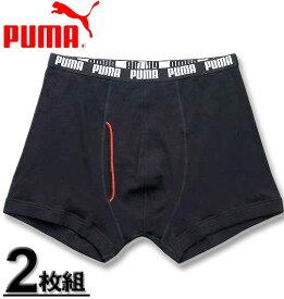 大きいサイズ メンズ PUMA(プーマ) 2Pボクサーパンツ ブラック 4L 5L 6L 8L【コンビニ受取対応商品】