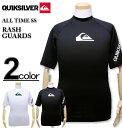 大きいサイズ メンズ Quiksilver(クイックシルバー) ラッシュガード半袖 ALL TIME SS/XXL 3XL 送料無料【コンビニ受取対応商品】