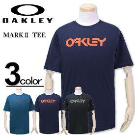 大きいサイズ メンズ OAKLEY(オークリー) ロゴTシャツ 半袖 MARK/XL XXL 3XL コンビニ受取対応商品