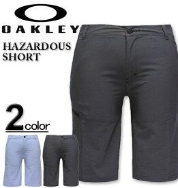 大きいサイズ メンズ OAKLEY(オークリー) ゴルフ ショートパンツ/HAZARDOUS 38インチ 40インチ 送料無料 コンビニ受取対応商品【セール品のため返品交換不可】
