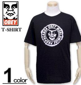 大きいサイズ メンズ OBEY(オベイ) Tシャツ 半袖 NINETY-ONE/XL XXL【コンビニ受取対応商品】