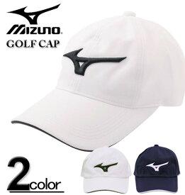 大きいサイズ メンズ MIZUNO ミズノ ゴルフ ロゴ刺繍 キャップ 3L/62~65cm【コンビニ受取対応商品】