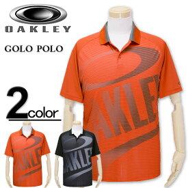 大きいサイズ メンズ OAKLEY(オークリー) ゴルフ ポロシャツ 半袖 GOLO POLO/XL XXL 3XL 送料無料【コンビニ受取対応商品】