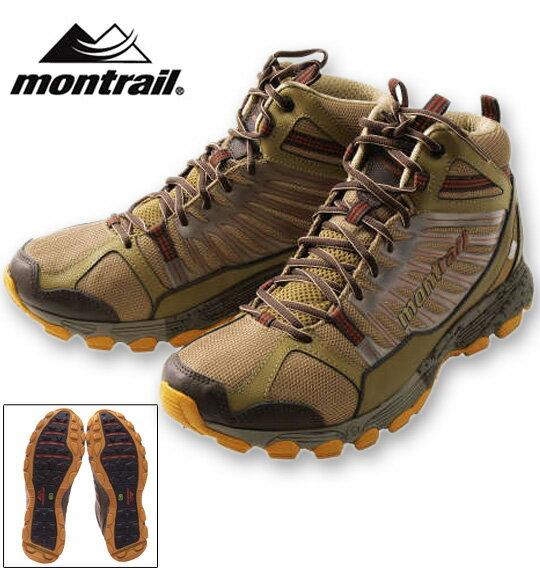 大きいサイズ メンズ montrail(モントレイル) バッドロックミッドアウトドライ(トレッキングシューズ) トレイル×シダー 29.5cm~33cm(11.5 12 12.5 13 14 15) 送料無料【コンビニ受取対応商品】