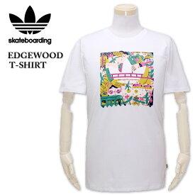 大きいサイズ メンズ adidas Skateboarding(アディダス スケートボーディング) EDGEWOOD 半袖Tシャツ 2XL 送料無料【コンビニ受取対応商品】