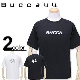 大きいサイズ メンズ Bucca44(ブッカフォーティーフォー) リフレクタープリント 半袖Tシャツ XXL XXXL【コンビニ受取対応商品】