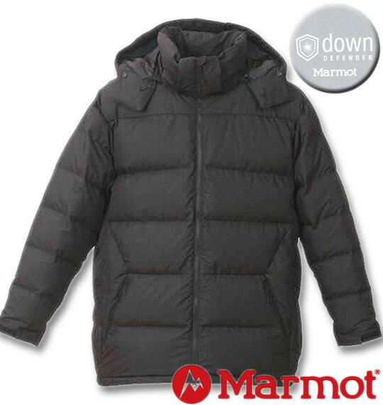 大きいサイズ メンズ Marmot(マーモット) ダウンジャケット ブラック 3L 4L 5L 6L 送料無料