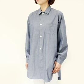 ORIAN(オリアン)8Y80-U306 コットン オーバーシャツ 正規品 レディース SALE