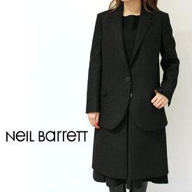 正規品 NeiL BarreTT(ニールバレット)NCA182 フランネル 切り替えレイヤードコート