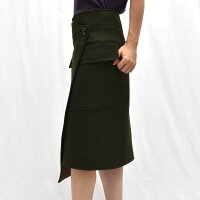 INSCRIRE(アンスクリア)SK20ウールラップスカート【正規品】