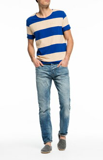 ★SCOTCH & SODA 스카치 앤드 소다★Ralston - Solar Bright USED 가공 데님 Colour: denim blue(48)