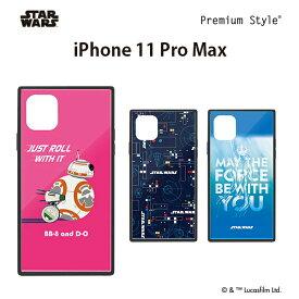 スターウォーズ (STAR WARS) iPhone 11 Pro Max (6.5インチ) ガラスハイブリッドケース PG-DGT19C33BB/PG-DGT19C34SW/PG-DGT19C35SW【メール便送料無料】