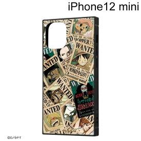 イングレム ワンピース iPhone 12 mini (5.4インチ)専用 耐衝撃ハイブリッドケース KAKU 手配書 IQ-OP26K3TB/OP007【メール便送料無料】