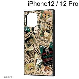 イングレム ワンピース iPhone 12 / iPhone 12 Pro (6.1インチ) 耐衝撃ハイブリッドケース KAKU 手配書 IQ-OP27K3TB/OP007【メール便送料無料】