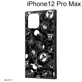 イングレム ワンピース iPhone 12 Pro Max (6.7インチ) 耐衝撃ハイブリッドケース KAKU 海賊旗マーク IQ-OP28K3TB/OP004【メール便送料無料】