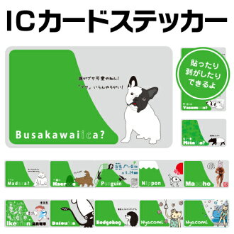 ☆ ◆ Fun ic card sticker IC 카드 스티커 1 10P01Aug15