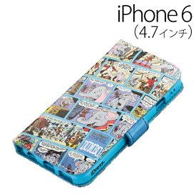 iPhone6 ケース☆◆ iDress ディズニー iPhone6 (4.7インチ) 専用 ダイアリーカバー ダンボ iP6-DN18【iphone/IPHONE/アイフォン/シックス/ケース/カバー/ジャケット/Disney/キャラクター/かわいい】