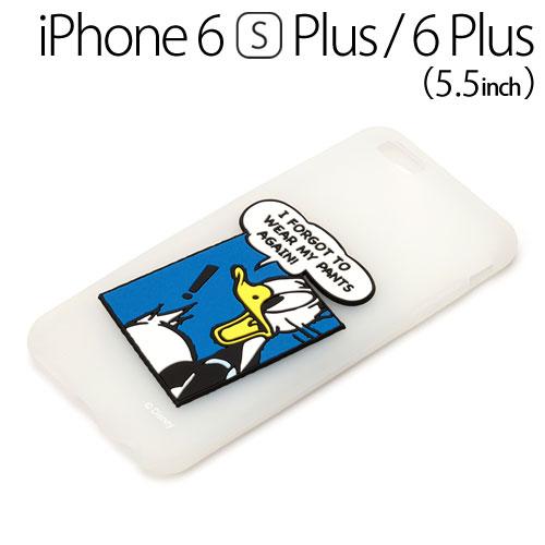 □◆ ディズニー iPhone6s Plus iPhone6 Plus (5.5インチ) 専用 シリコンケース ドナルドダック PG-DCS052DND【iphone/IPHONE/アイフォン/シックス/エス/プラス/ケース/カバー/ジャケット】【メール便送料無料】