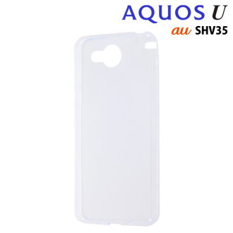 ☆ [Ray out au AQUOS U (SHV35) private TPU soft case ultra thin clear RT-AQ35TC7/C 10P01Oct16